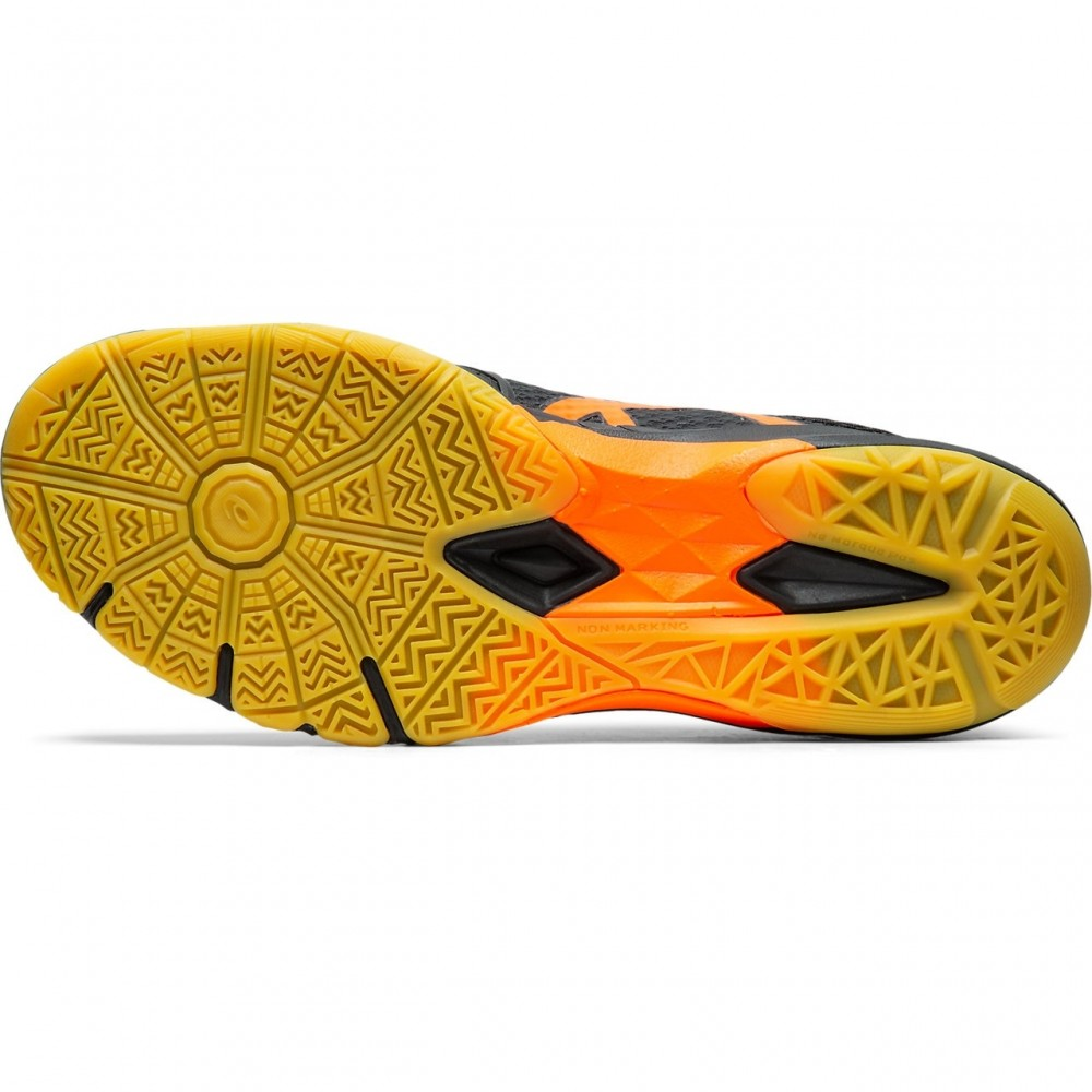 AsicsGelBlade7BlackShockingOrange-01