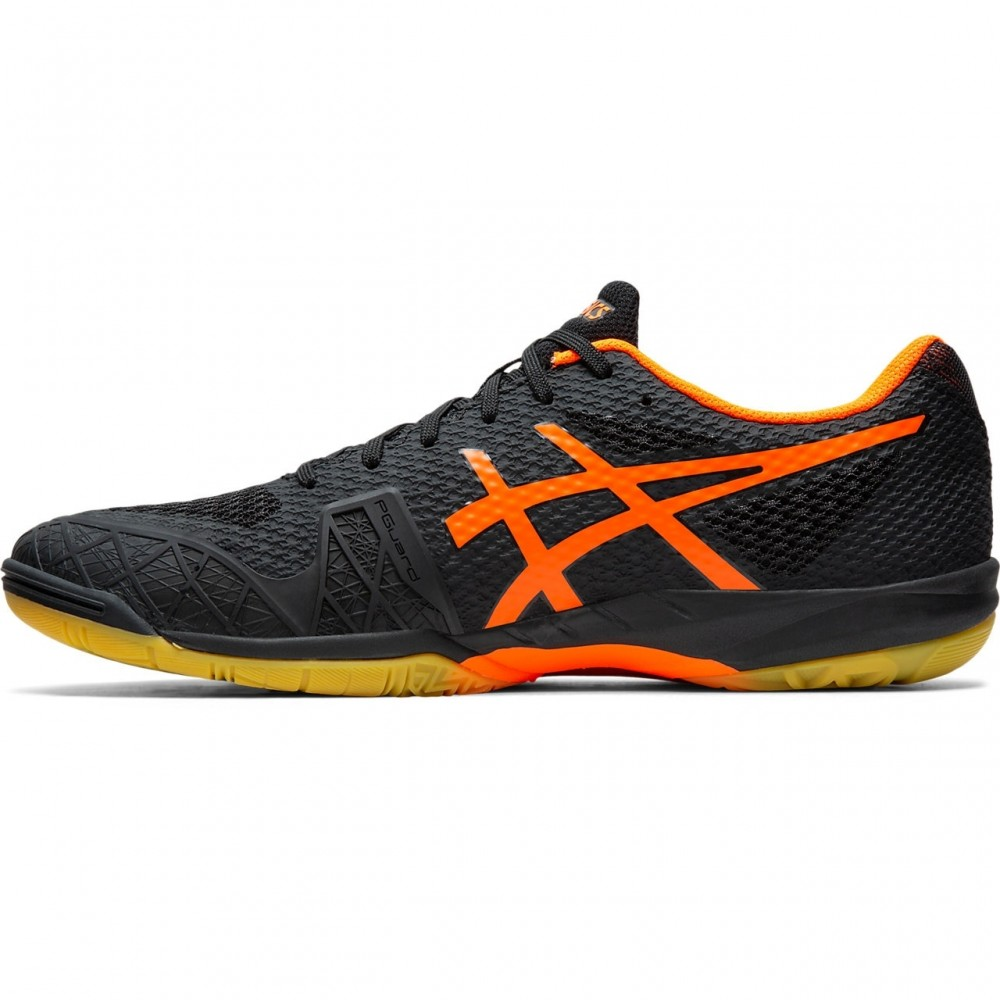 Asics Gel Blade 7 Black/Shocking Orange-01
