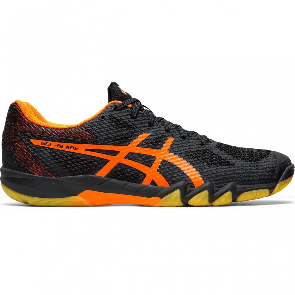 Asics Gel Blade 7 Black/Shocking Orange