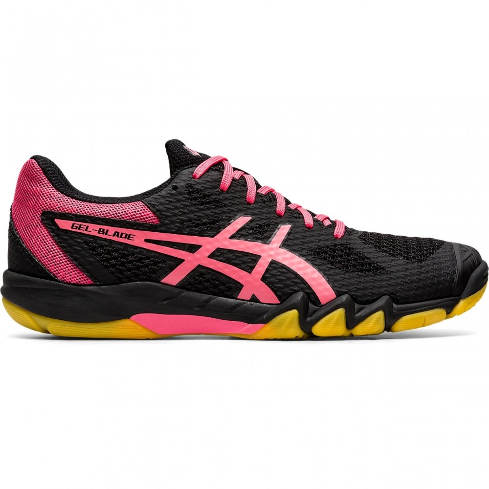 Asics Gel Blade 7 Women Black/Pink Cameo