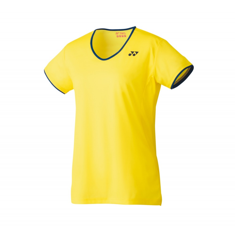 Yonex Dame T-Shirt Light Yellow