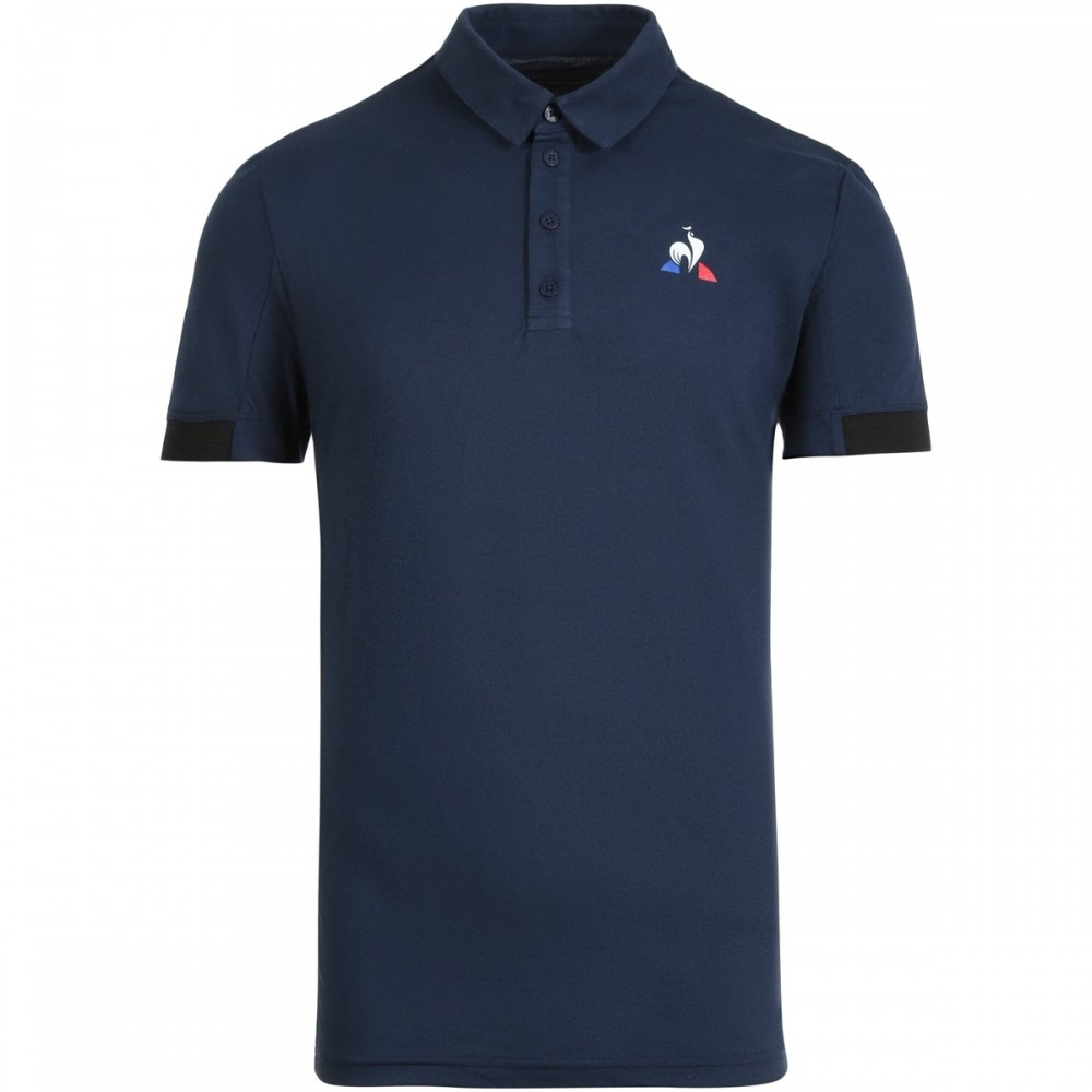 Le Coq Sportif Herre Polo Navy