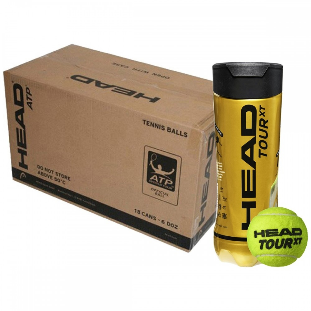 Head Tour XT Tennisbolde (18 Rør)