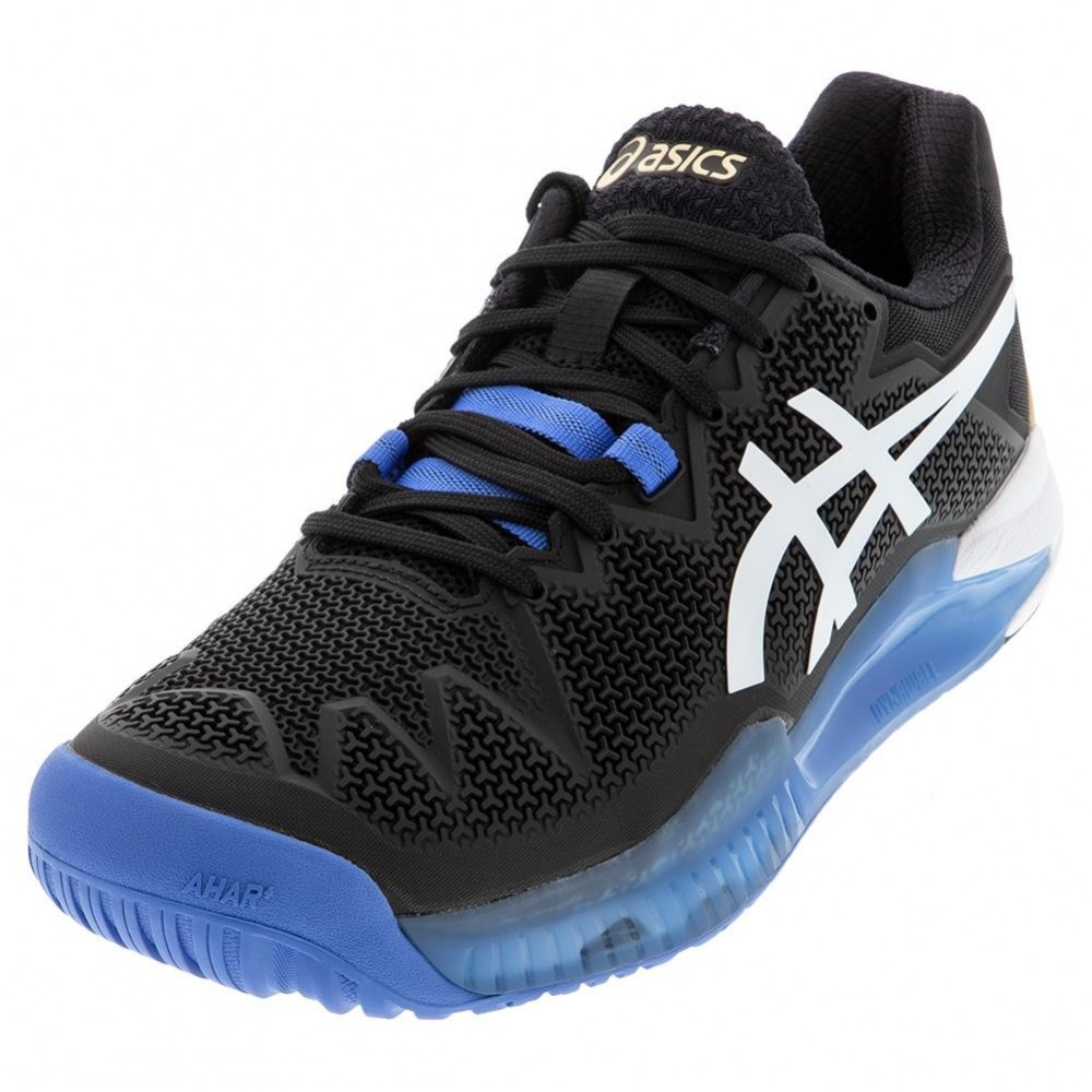 Asics Gel Resolution 8 Sort/Hvid-01