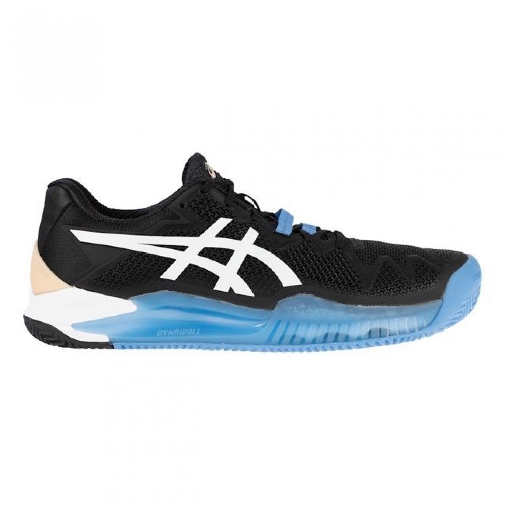 Asics Gel Resolution 8 Sort/Hvid