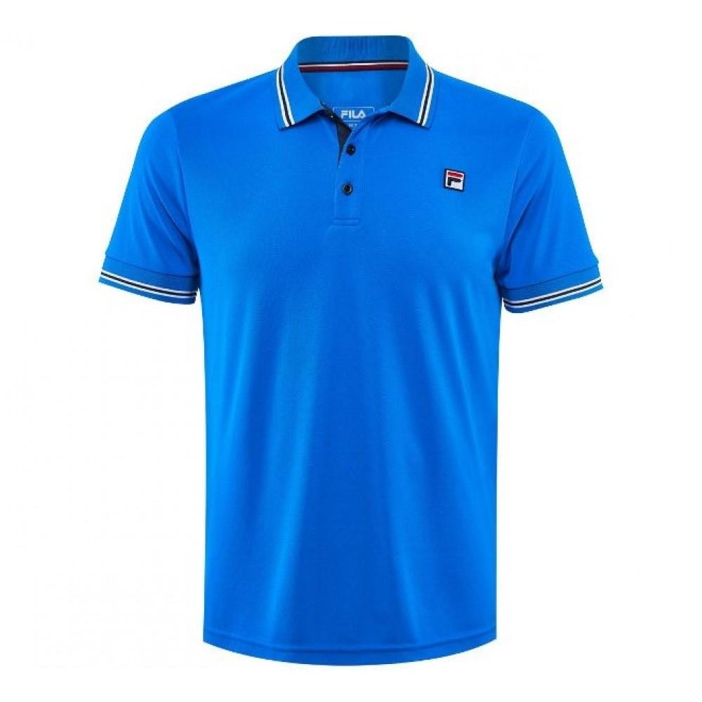Fila Polo Button Piro Blue
