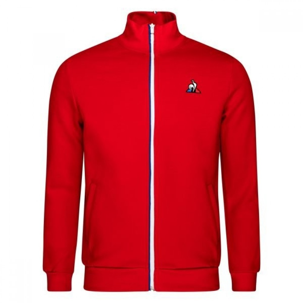 Le Coq Sportif Træningsjakke Rød
