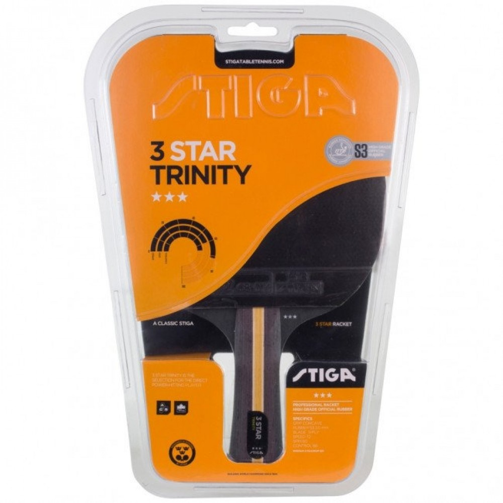 Stiga Trinity 3 Star Bat