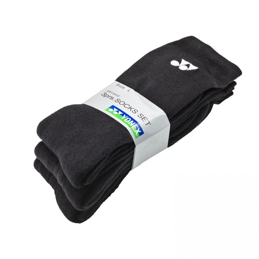 Yonex sokker 3 pak 8433 - Black