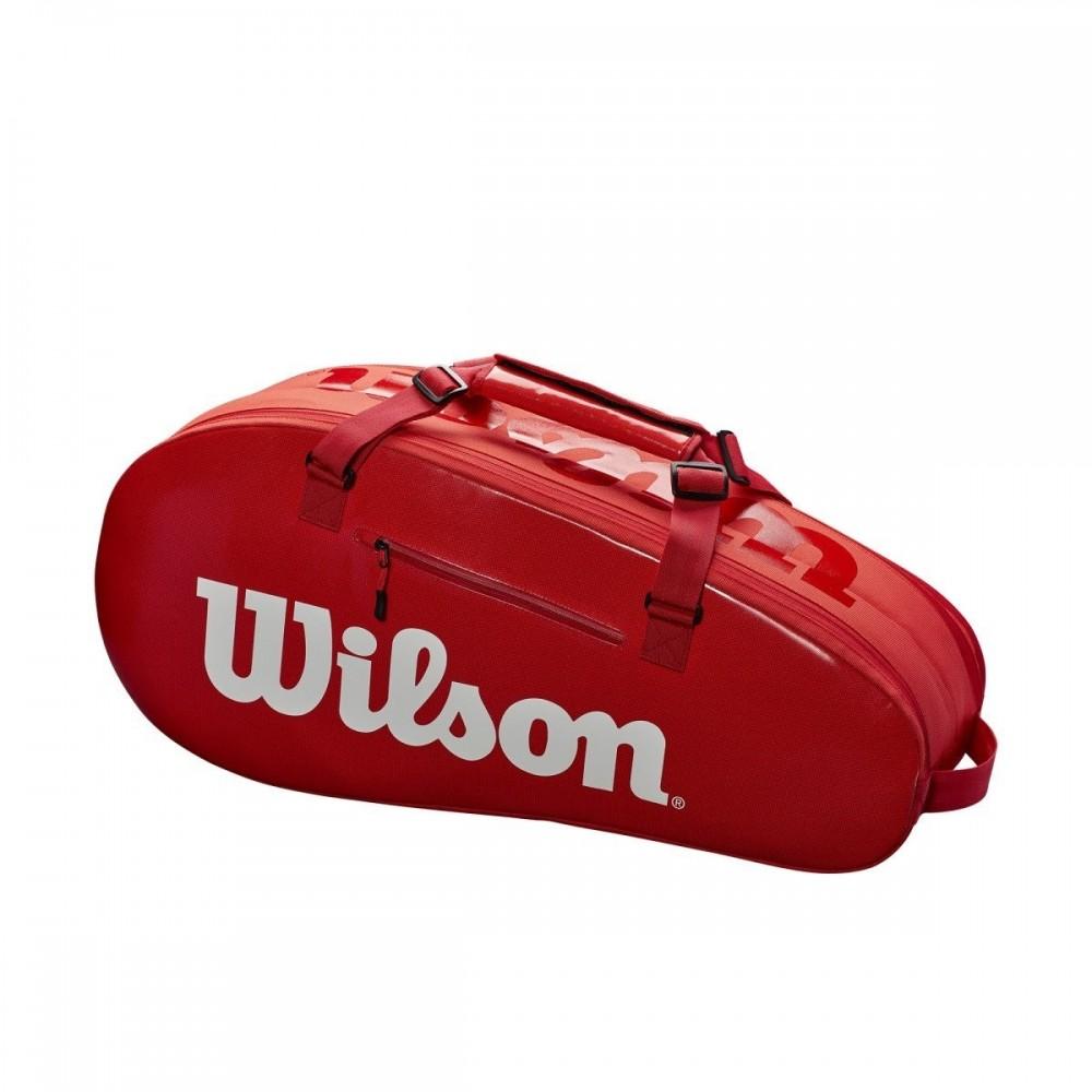 Wilson Super Tour Comp 2 Red