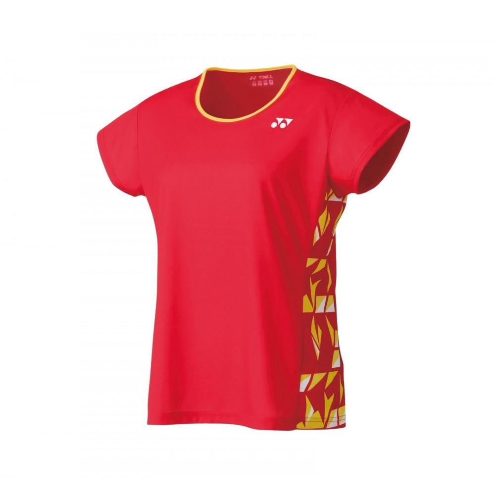 Yonex Dame T-Shirt Flash Red