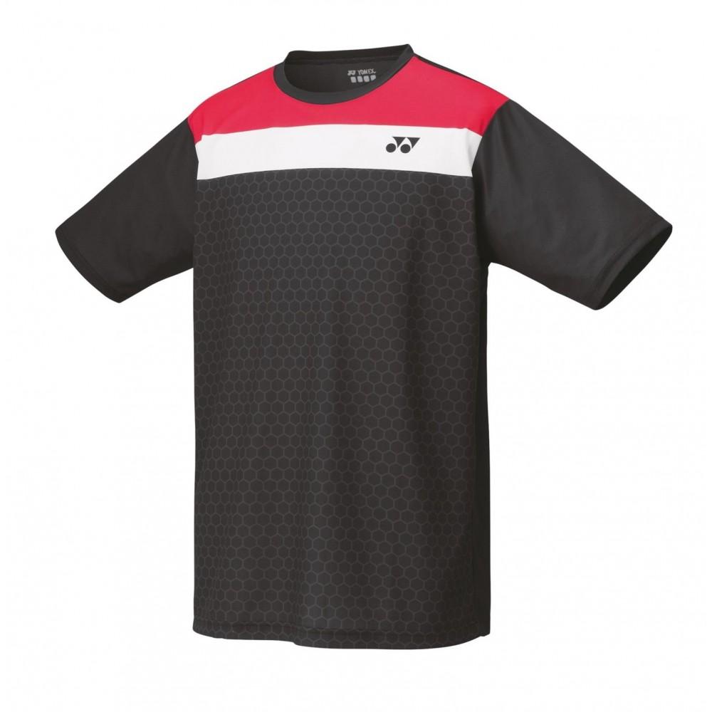 Yonex T-Shirt Herrer Black/Red