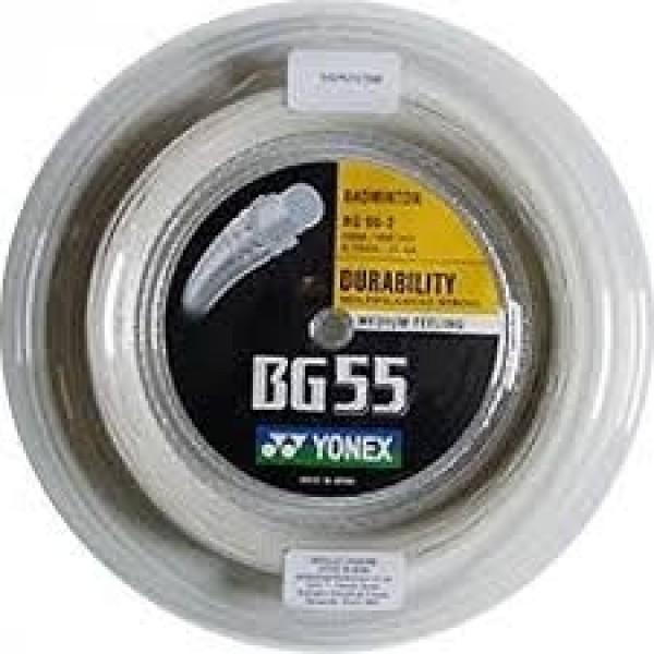 Yonex BG 55 Rulle Hvid (200M)-31