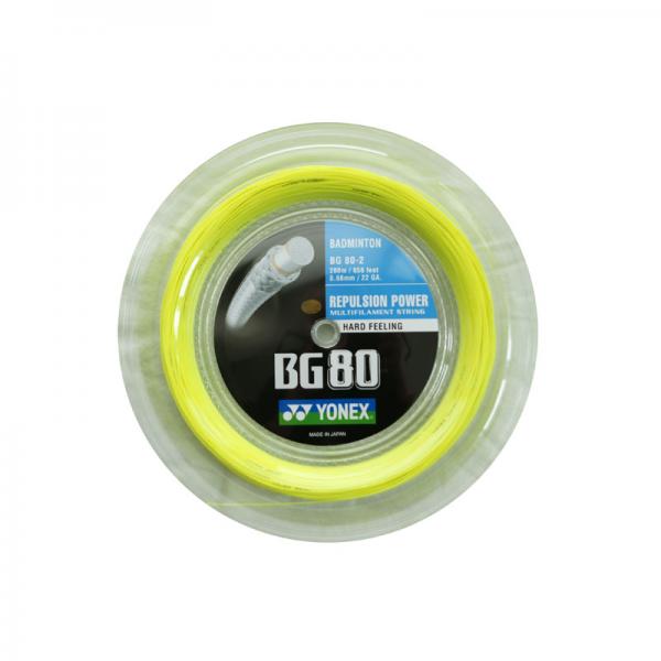 Yonex BG 80 Rulle Gul (200M)-31