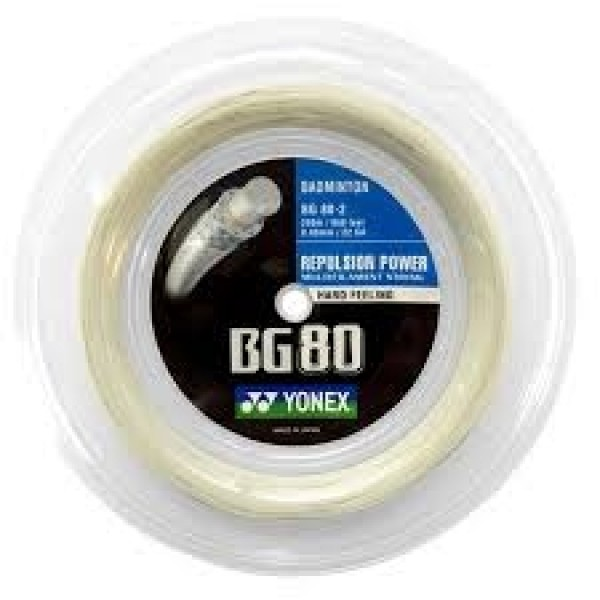 Yonex BG 80 Rulle Hvid (200M)-31