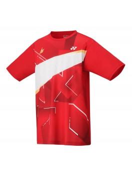 Yonex T-Shirt Herrer Lin Dan Flash Red-20