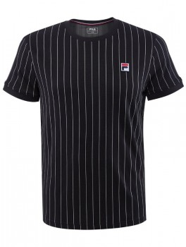 Fila T-Shirt Stripes Black/White-20