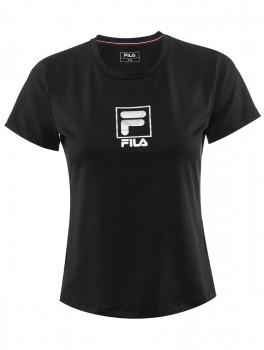 Fila T-Shirt Angie Sort/Sølv-20