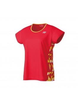 Yonex Dame T-Shirt Flash Red-20