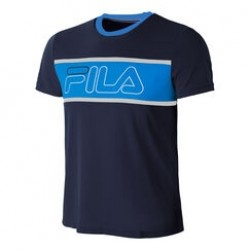 Fila T-Shirt Connor Navy/Blå