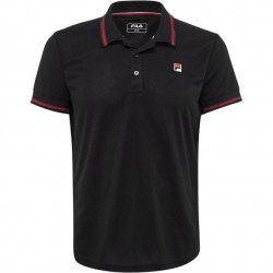 Fila Polo Button Piro Black