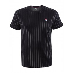 Fila T-Shirt Stripes Black/White