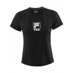 Fila T-Shirt Angie Sort/Sølv