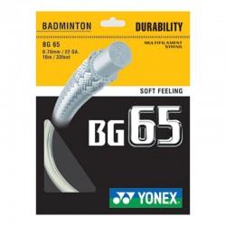 Yonex BG 65 Opstrengning