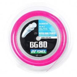 Yonex BG 80 Pink Rulle (200M)