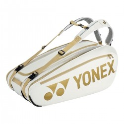 Yonex Pro Ketchertaske Hvid/Guld